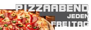 Hammerwirt - Pizzaabende jeden Freitag
