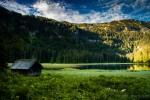 Hütte beim Obersee