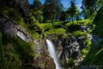 Rothschilds' Alpenbad - Wasserfall